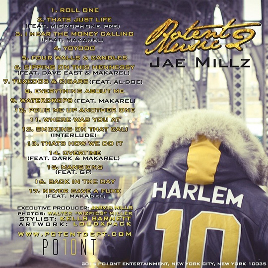 Tracklist For Jae Millz Potent Music 2 Project