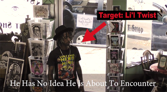 Lil Twist Gets Pranked By Annabelle Creation In A Vintage Store