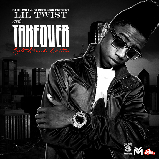 Lil Twist The Takeover Carte Blanche Edition Official Mixtape Cover
