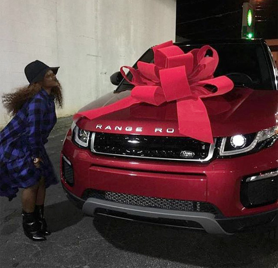 Lil Wayne & Toya Wright Gift Reginae Carter With A Range Rover For Her 17th Birthday