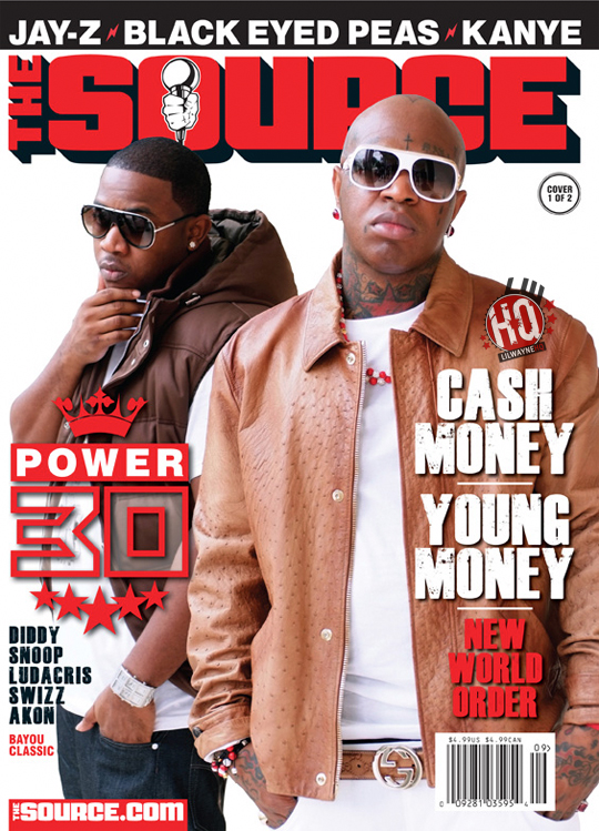 Mack Maine & Birdman Cover The Source Magazine