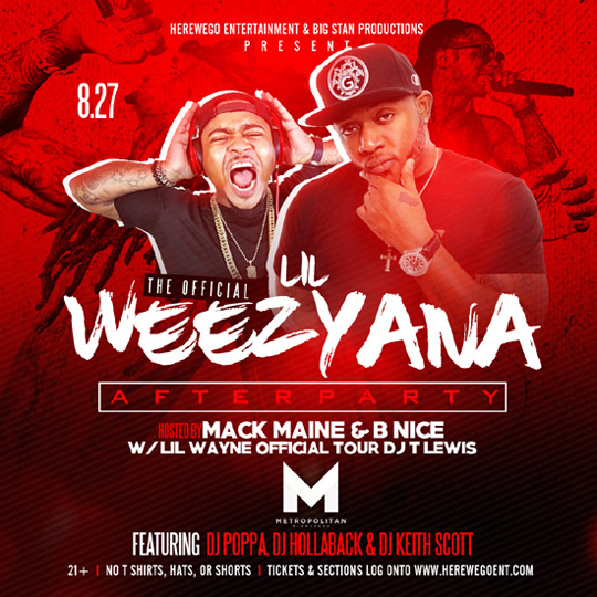 Mack Maine To Host Lil Weezyana Fest After Party At The Metropolitan In New Orleans