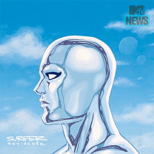 Marvel Has Paired Silver Surfer With Drake For Their Hip Hop Variant Artwork