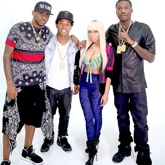 Meek Mill Shoots Music Video With Nicki Minaj In Queens New York City
