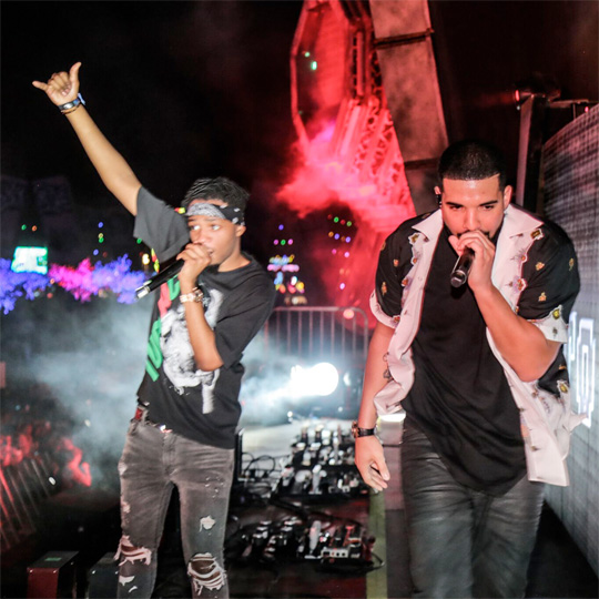 Metro Boomin Brings Out Drake To Perform Live At The 2017 EDC Music Festival In Las Vegas