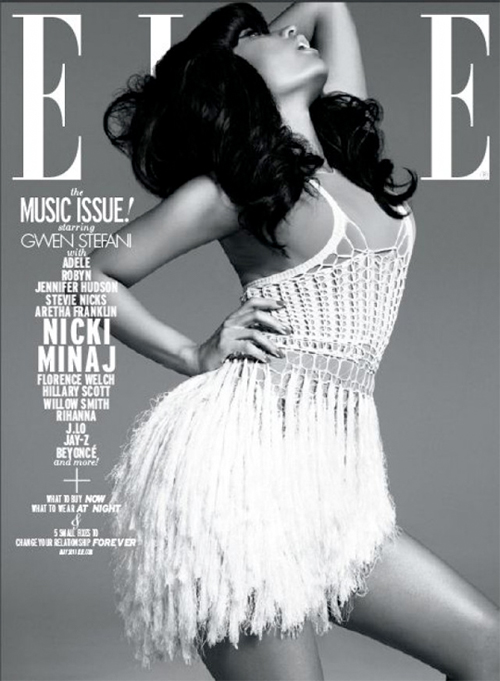 Nicki Minaj Covers Elle Magazine