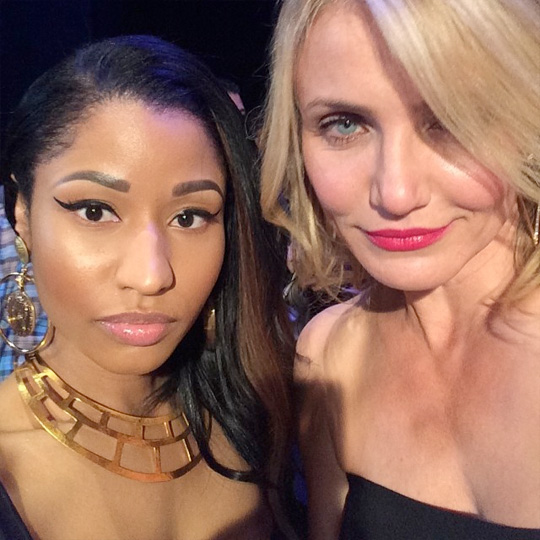 Nicki Minaj Talks Working With Cameron Diaz & If She Has Ever Been The Other Woman