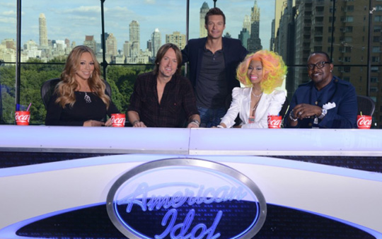 Nicki Minaj American Idol Auditions In New York City