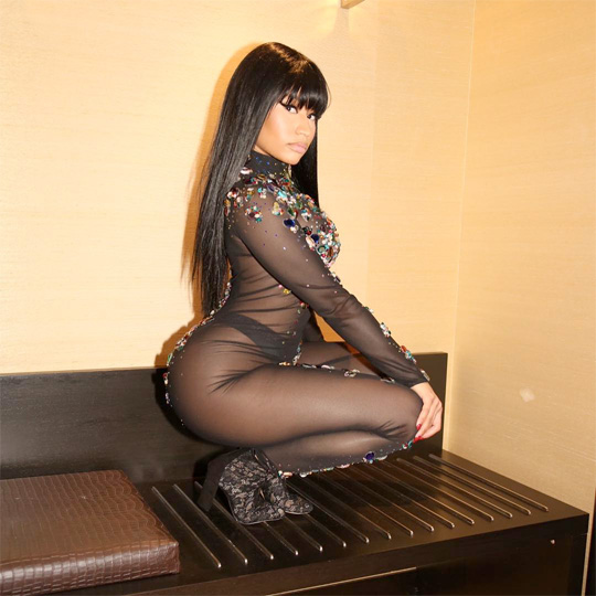 Nicki Minaj Backstage At The 2015 Unitel Christmas Festival In Angola