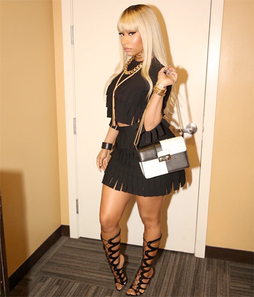 Nicki Minaj Talks Barbershop The Next Cut, Meek Mill, Valentines Day & More On Ellen