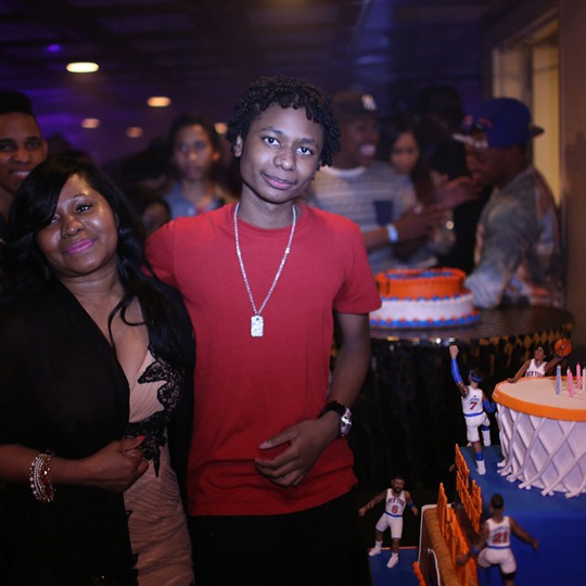 Nicki Minaj Hosts Birthday Bash For Her Little Brother Micaiah