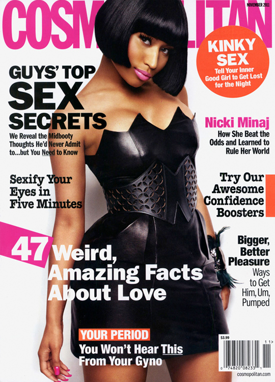 Nicki Minaj Covers Cosmopolitan Magazine