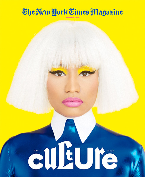Nicki Minaj Covers The New York Times Magazine, Talks Miley Cyrus, Drake vs Meek Mill Beef & More