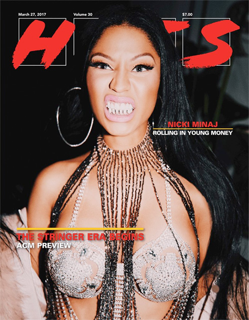 Nicki Minaj Covers Volume 30 Issue Of HITS Magazine