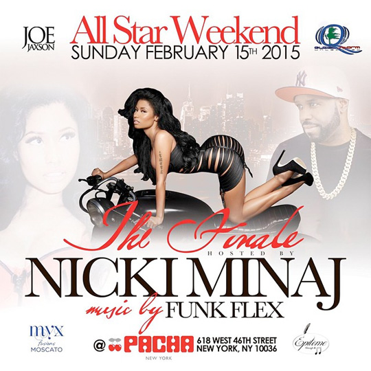 Nicki Minaj To Host 4 Events In New York Over 2015 NBA All-Star Weekend