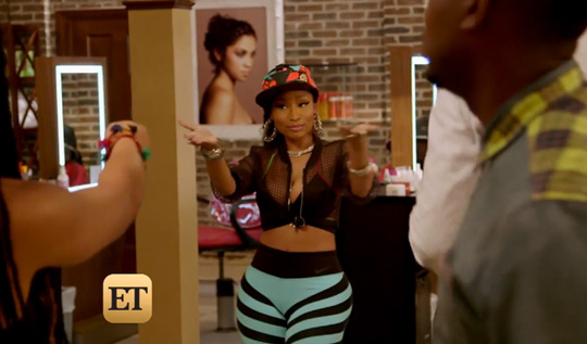 Nicki Minaj & Ice Cube Speak On Their Upcoming Barbershop 3 Movie