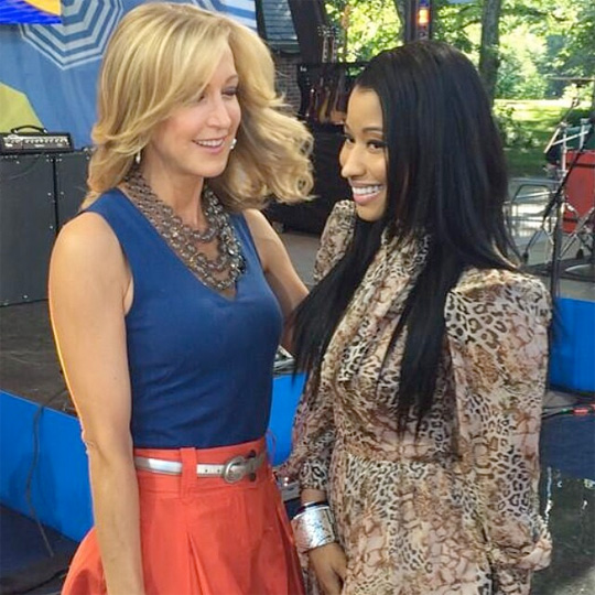 Nicki Minaj Confirms The Pink Print Will Drop In 2014 On Good Morning America
