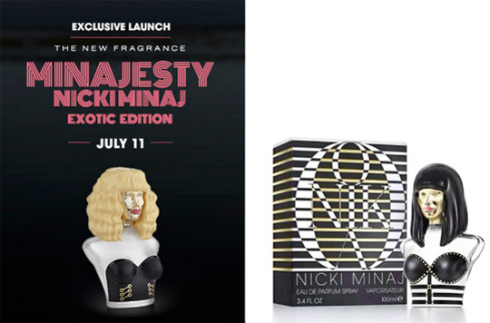 Nicki Minaj To Launch Onika Fragrance & A New Version Of Her Minajesty Perfume