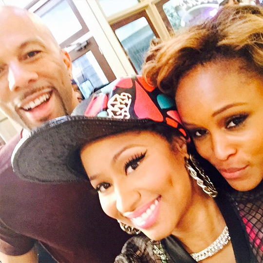 Eve Chats To DJ Envy & Charlamagne Tha God About Nicki Minaj On The Breakfast Club
