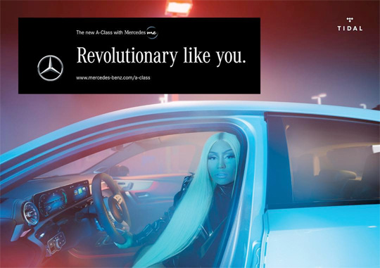 Nicki Minaj Stars A New Commercial For Mercedes-Benz