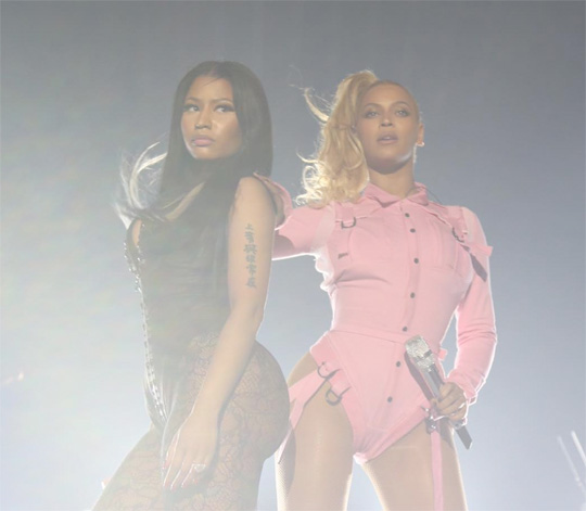 Nicki Minaj Chats About Performing Live With Beyonce At TIDAL X 1020