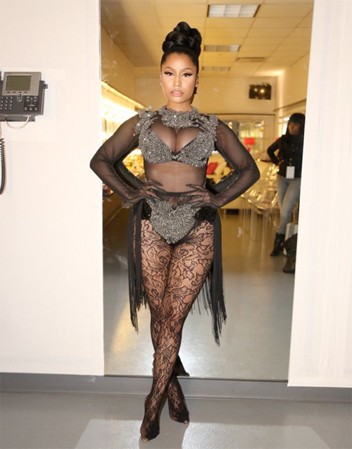 Nicki Minaj Hits The 2016 TIME 100 Gala Red Carpet Looking Flawless
