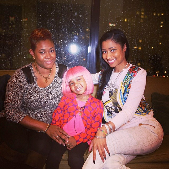 Nicki Minaj Makes A Young Cancer Patient Dream Come True