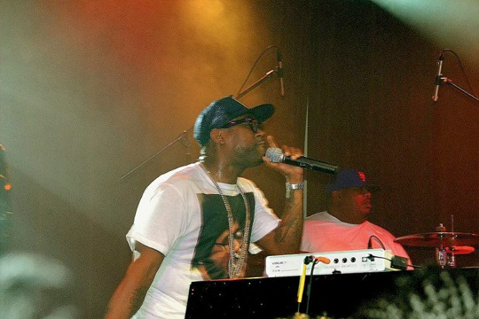 PJ Morton Performs At Highline Ballroom In New York