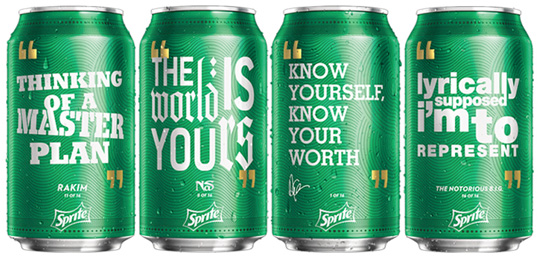 Quotes From Drake Featured On Sprite Cans & Bottles This Summer
