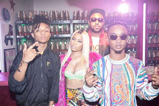 Rae Sremmurd Call Nicki Minaj Dope & A Female Icon During DJ Semtex Interview