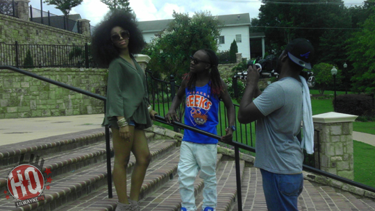 Pictures On Set Of Ray Lavender & Lil Chuckees Summertime Love Video Shoot