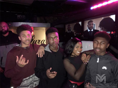 Reginae Carter Meets Fans At Aura Lounge Nightclub In Virginia Beach