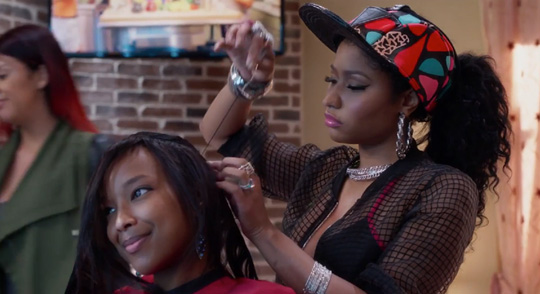 A Second Trailer For Barbershop The Next Cut Starring Nicki Minaj