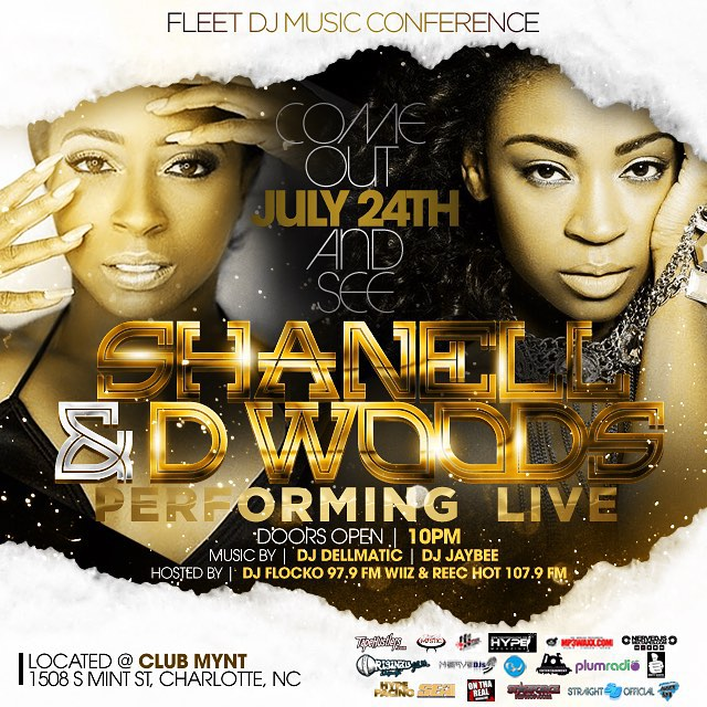 Shanell & D. Woods To Perform Live At Mynt Lounge In Charlotte North Carolina