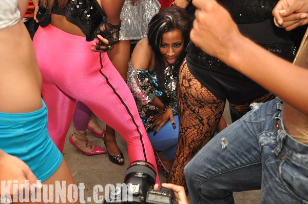 Pictures From Behind The Scenes For Shanells Its The Beat Video Shoot