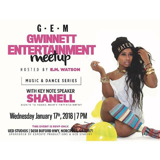 Shanell Will Be A Special Guest At The Gwinnett Entertainment Meetup In Georgia