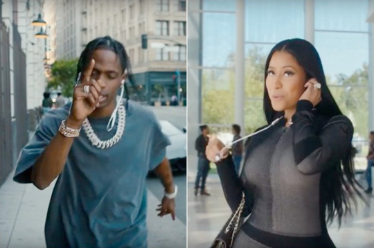 Travis Scott Says He Wants To Work With Nicki Minaj, Calls Her A Very Good Rapper