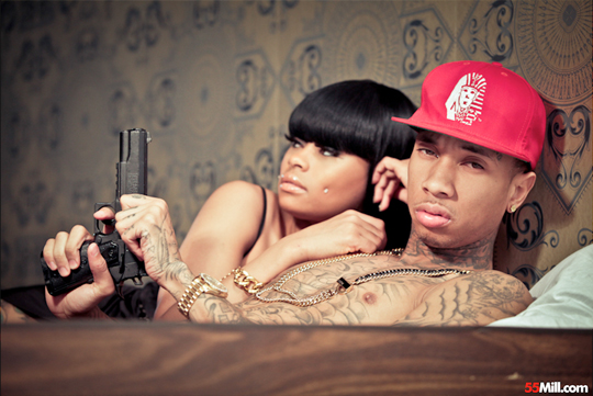 Tyga & Blac Chyna Photo Shoot With 55Mill - Pictures