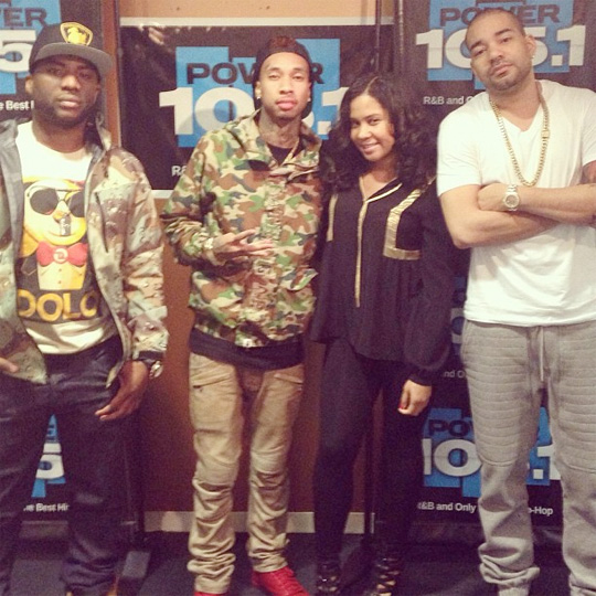 Tyga Interview With The Breakfast Club