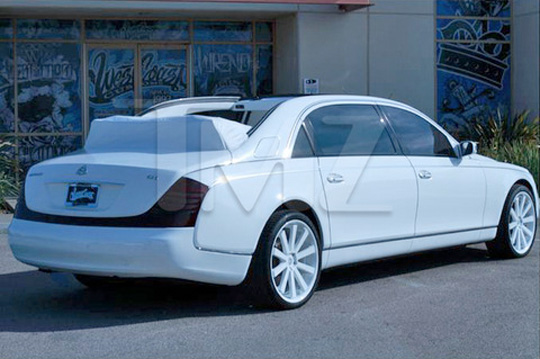Tyga Pays 2.2 Million For A Convertible Maybach 62S Landaulet