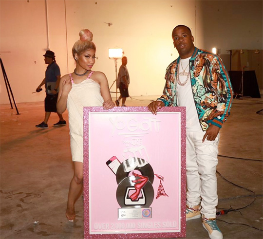 Yo Gotti & Nicki Minaj Down In The DM Collaboration Goes Double Platinum